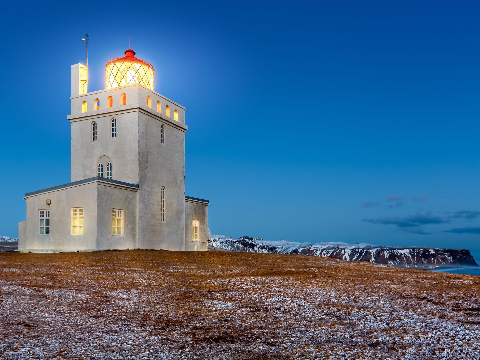 Dyrhólaey Peninsula, Iceland.