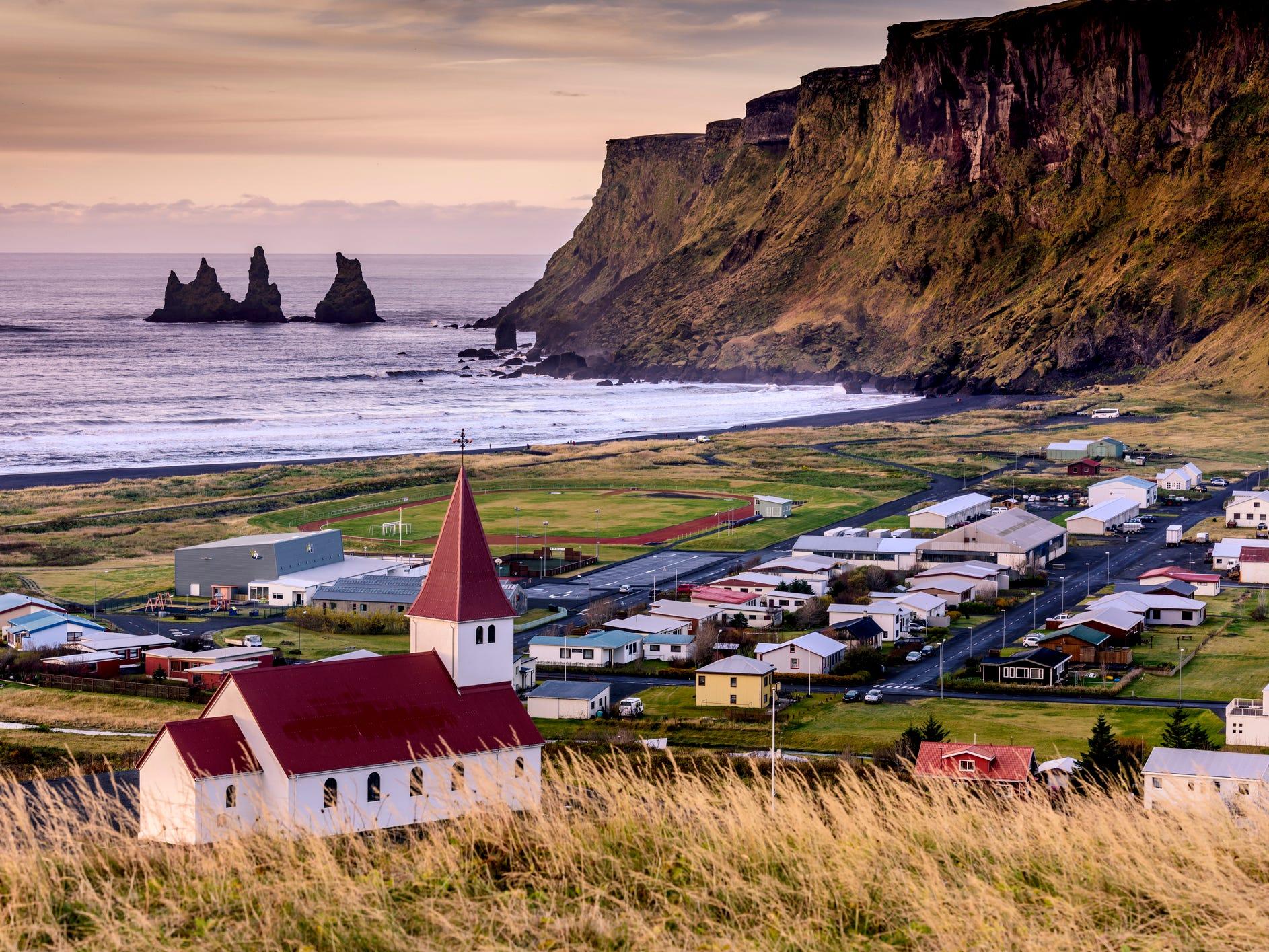 Vík, Iceland.