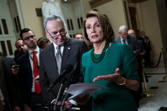 Epa The USA Schumer Pelosi Shutdown Congress Pol Authorities The USA Dc