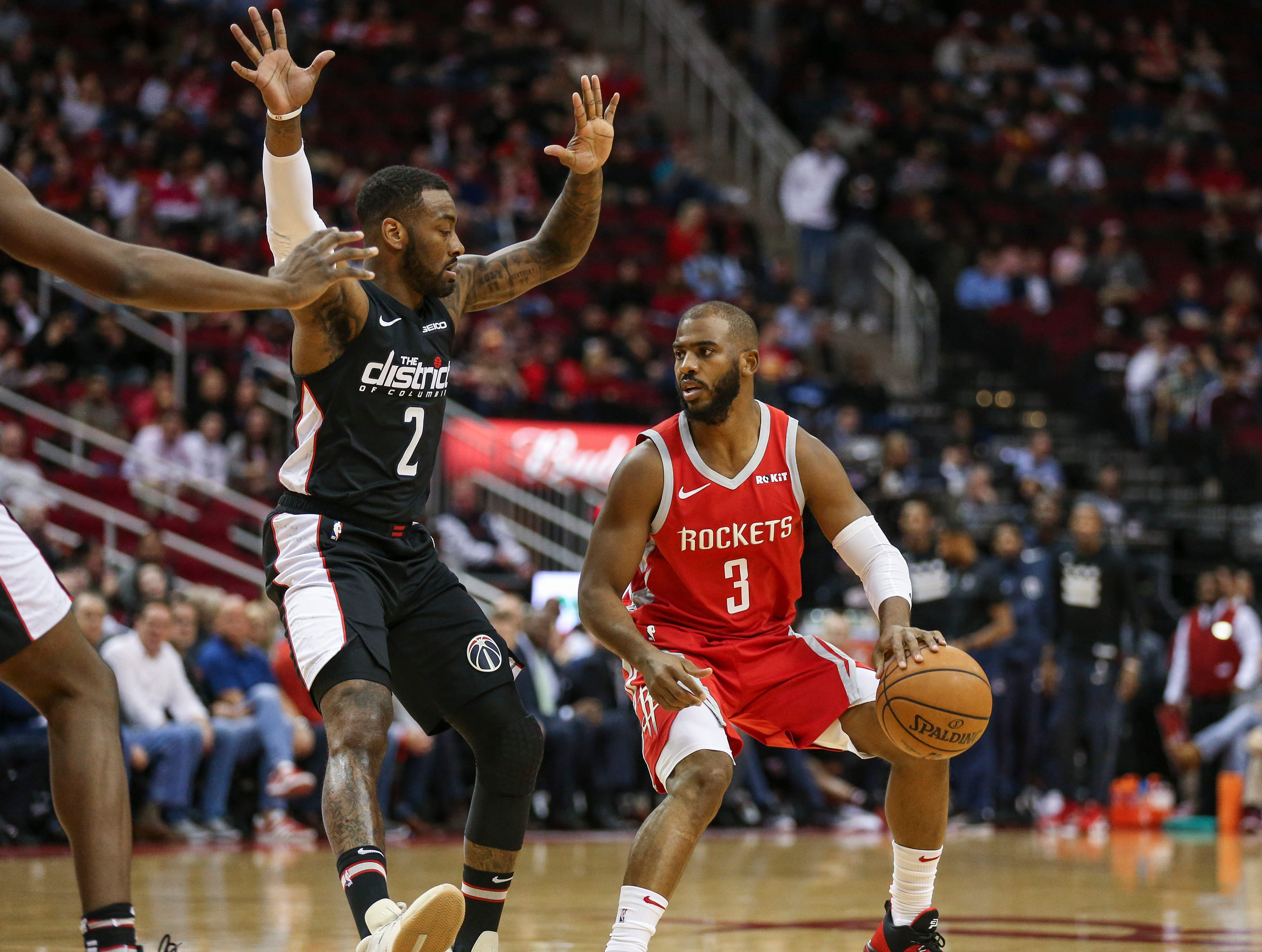 289e6ca7f9d Rockets' Chris Paul out at least two weeks with strained hamstring ...
