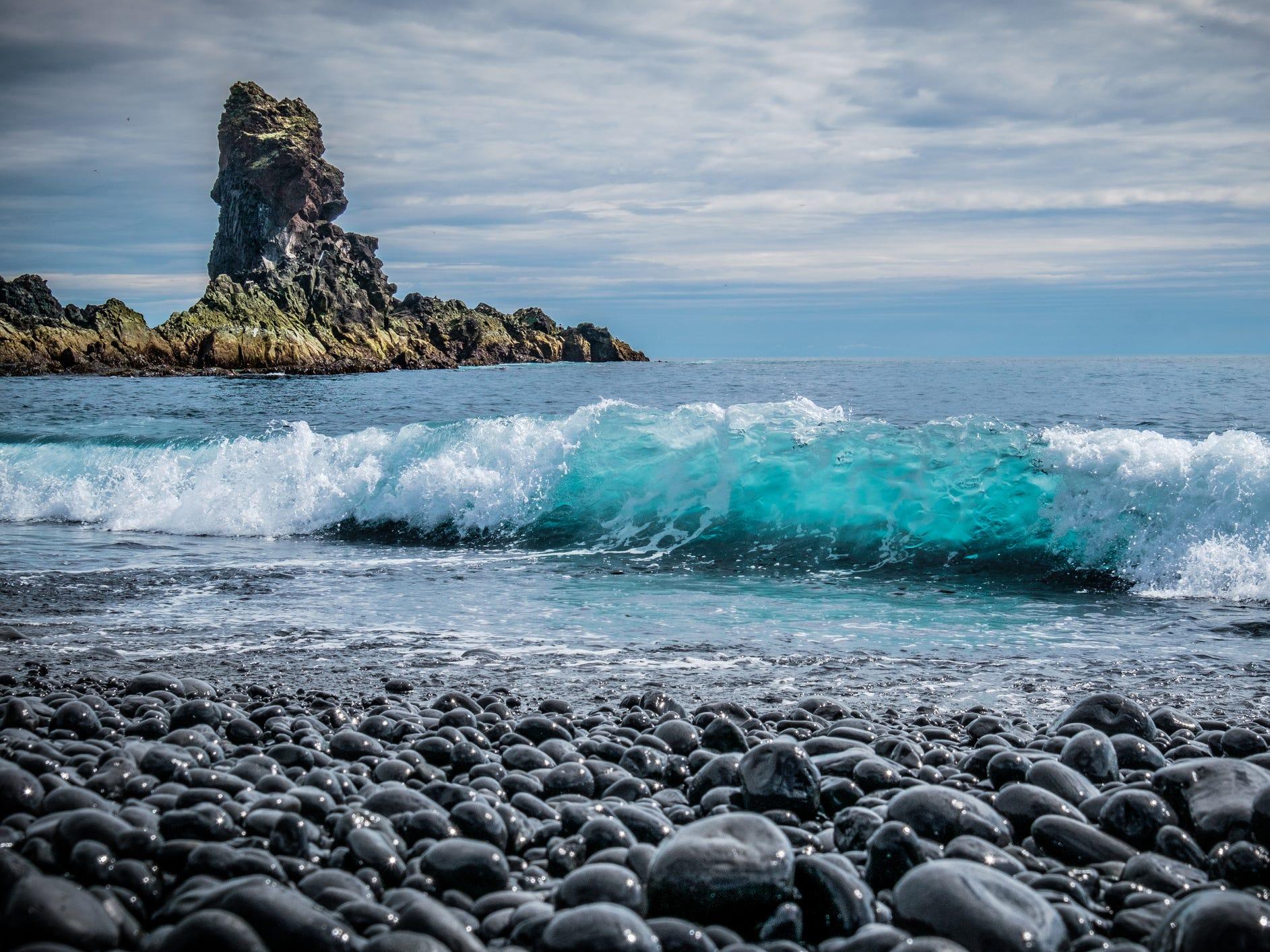 Djúpalónssandur on the Snæfellsnes Peninsula, Iceland.