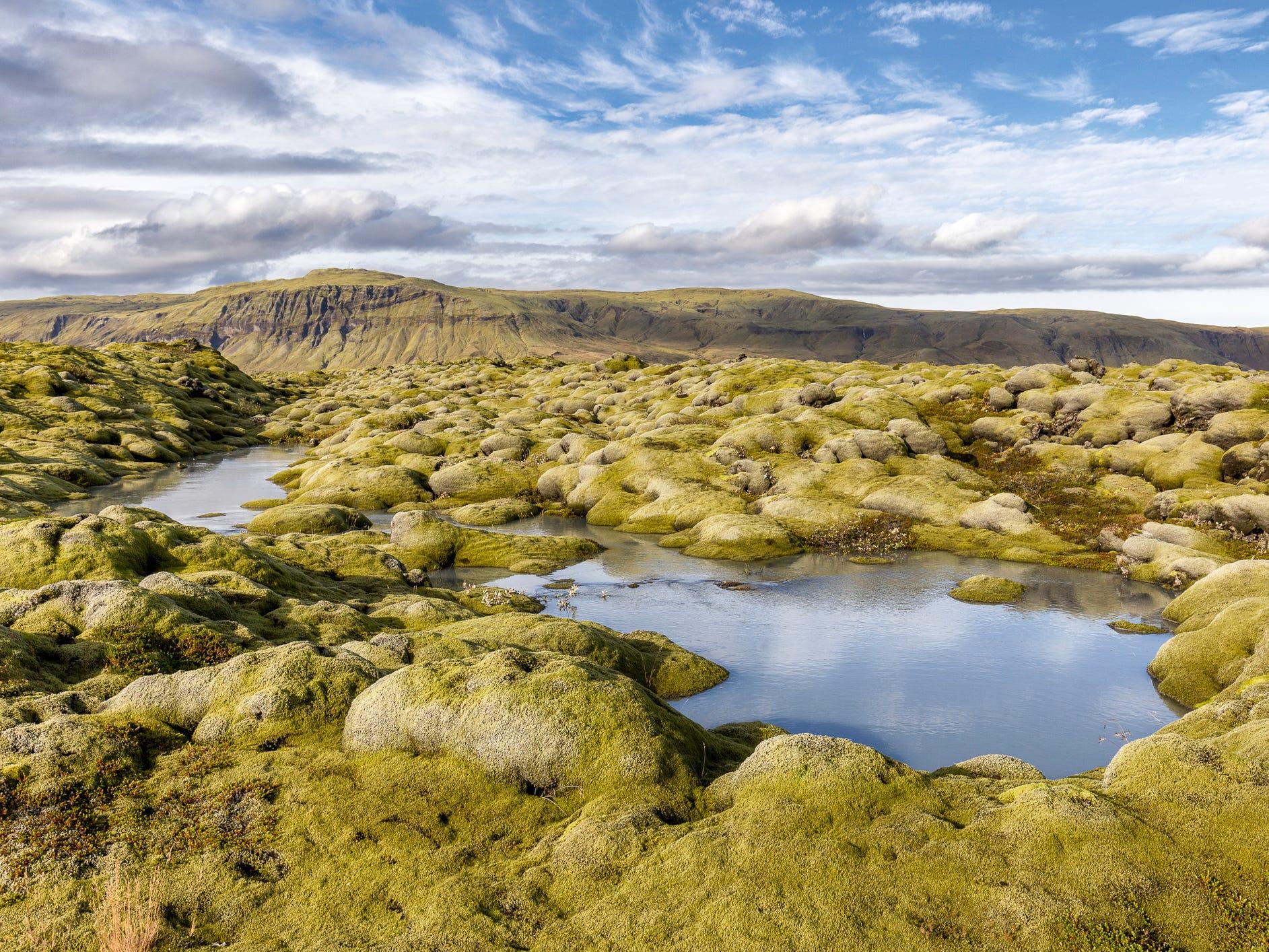 Eldhraun, Iceland.