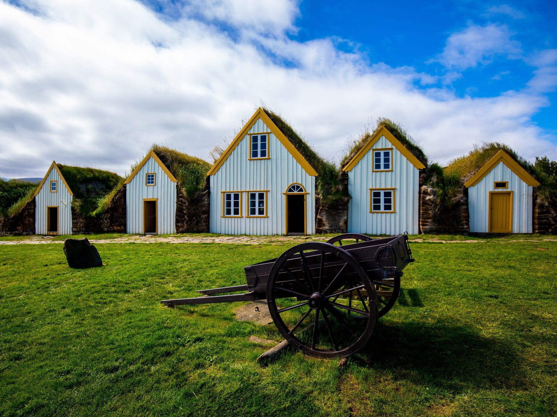 Glaumbær farm, Iceland.
