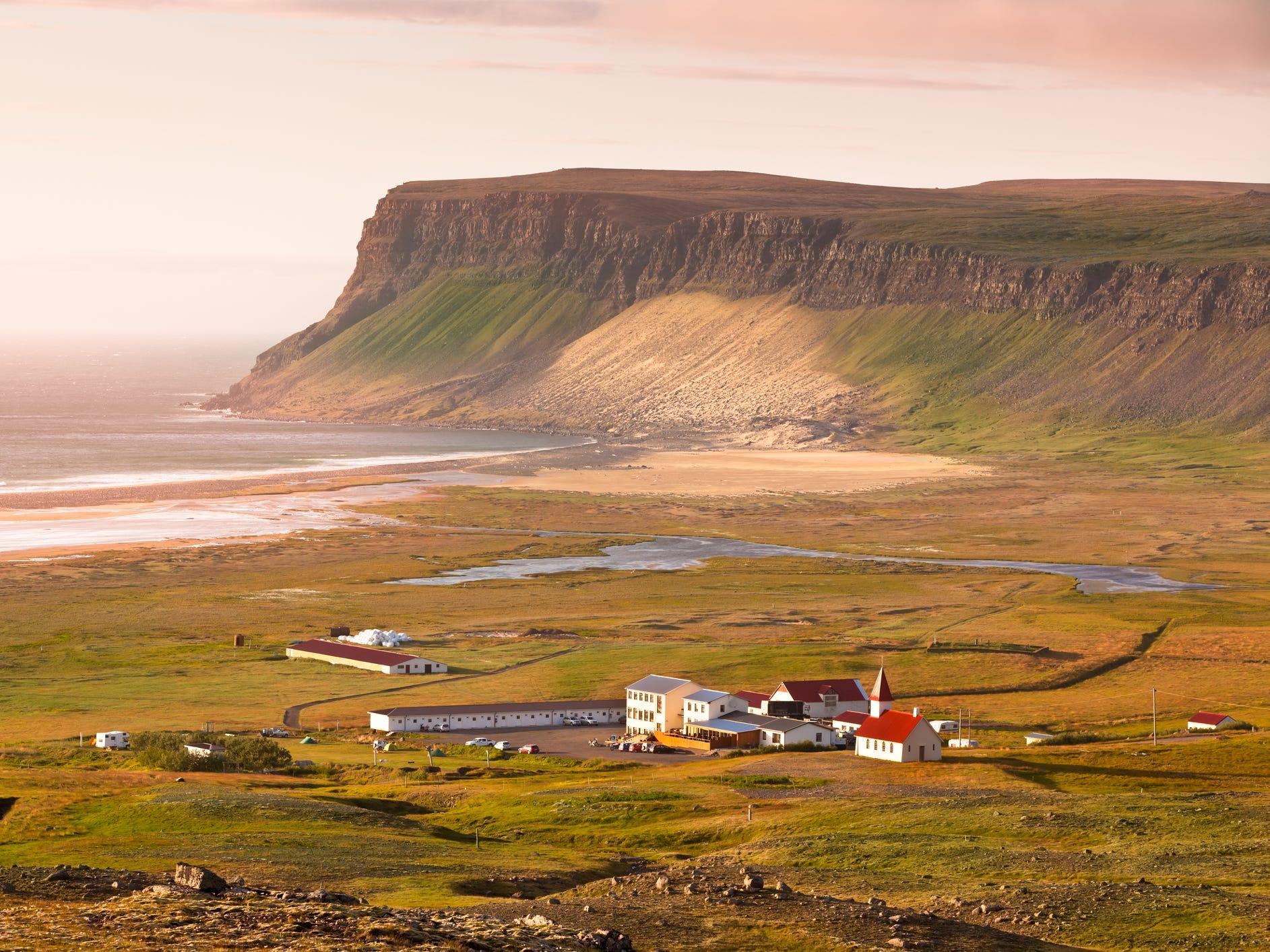 Breiðavík, Iceland.