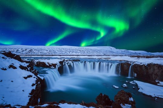 Goðafoss in Iceland.