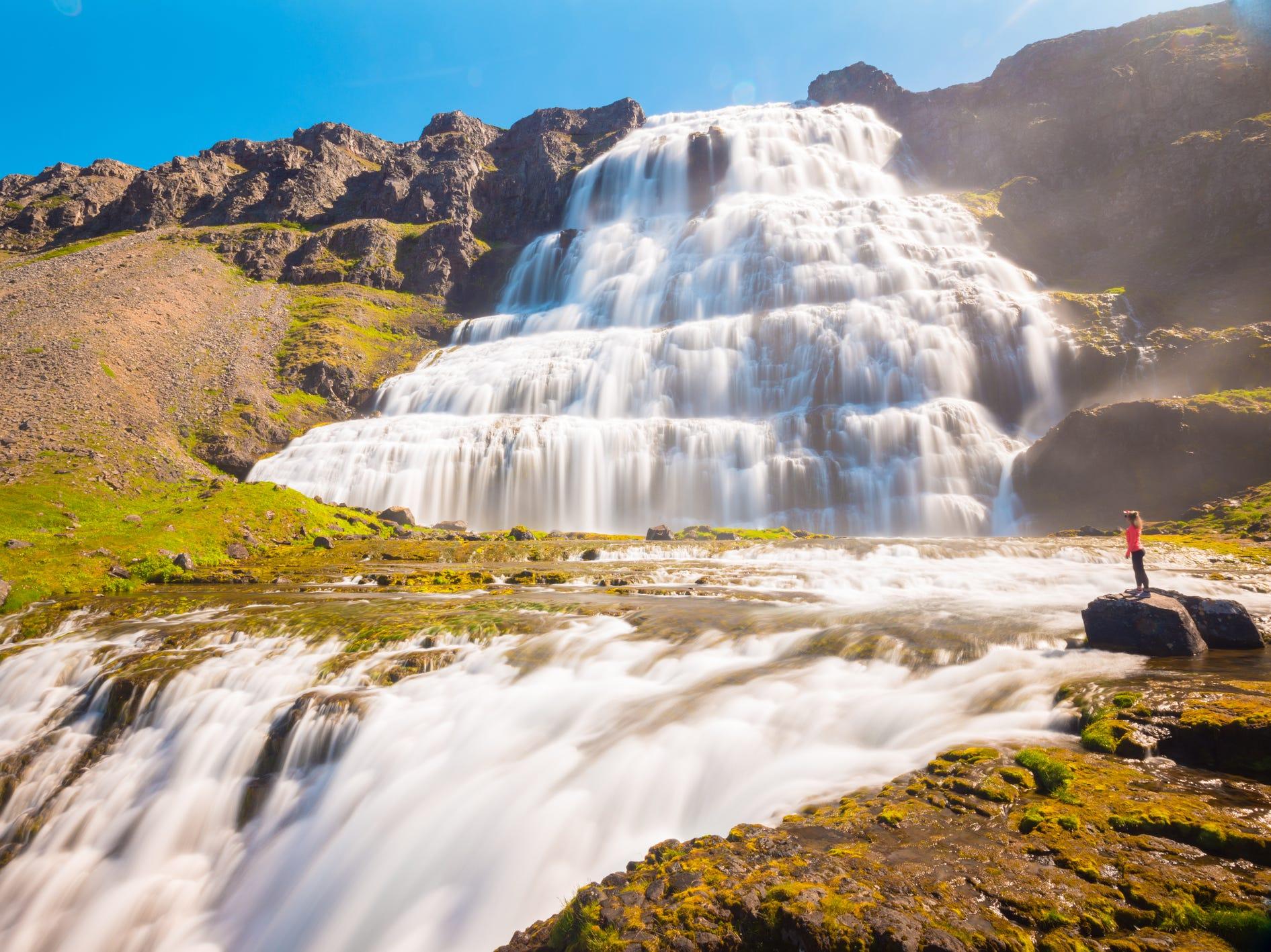 Dynjandi in Iceland.