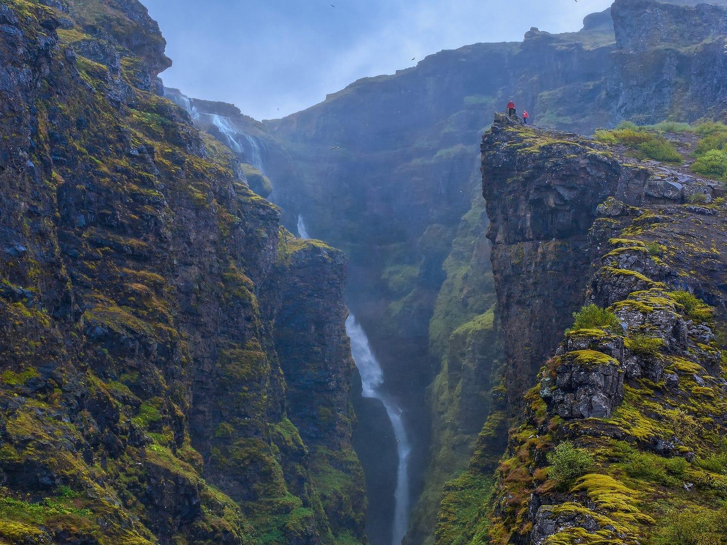 Glymur in Iceland.