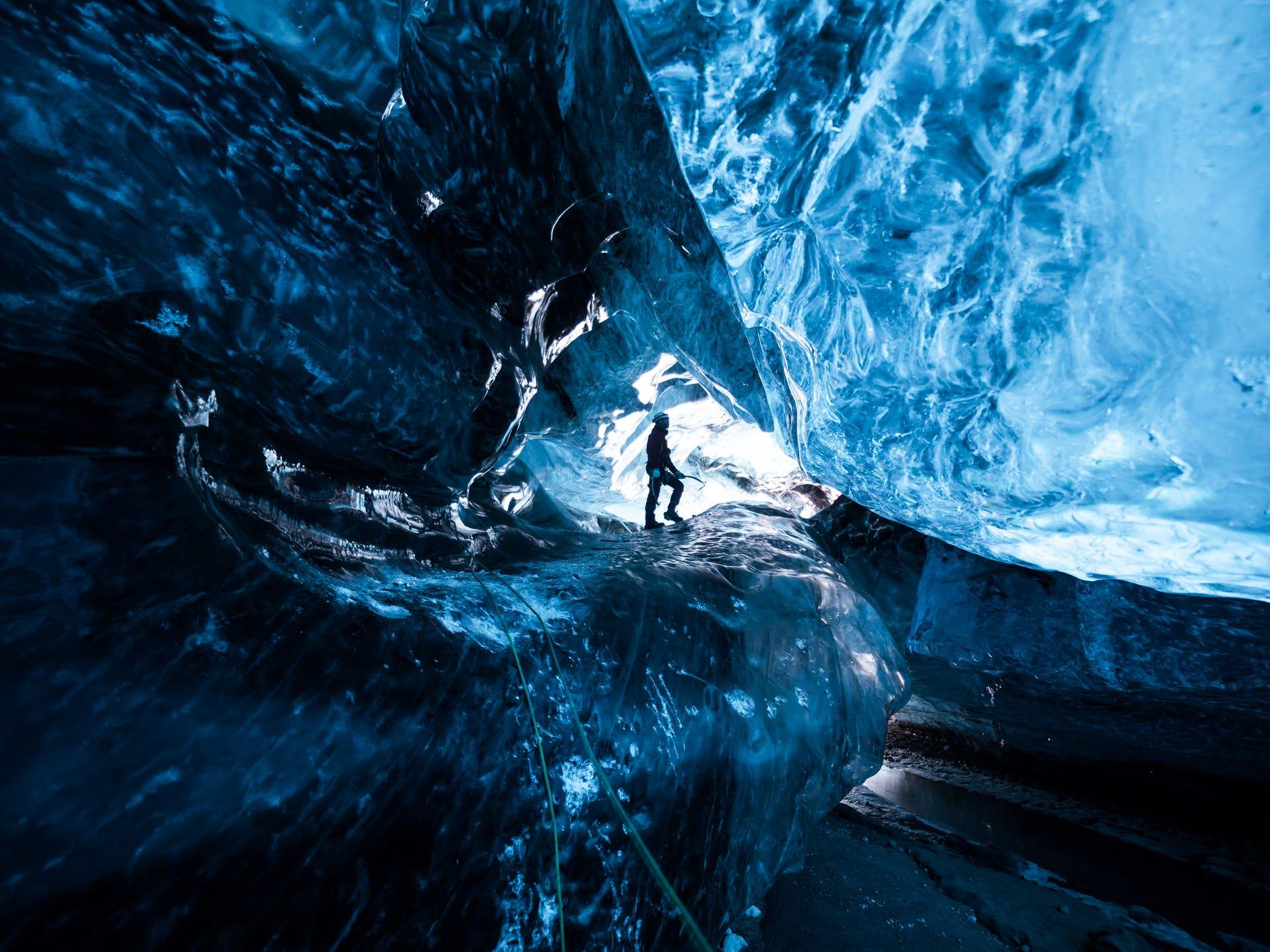 Vatnajökull in Iceland.