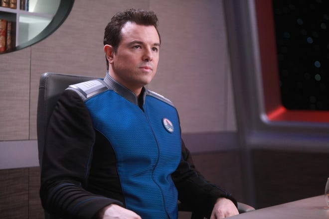 Seth MacFarlane plays Capt. Ed Mercer in Fox's 'The Orville,' which opens Season 2 Dec. 30 after Fox's NFL coverage, before moving to its regular night on Jan. 3.