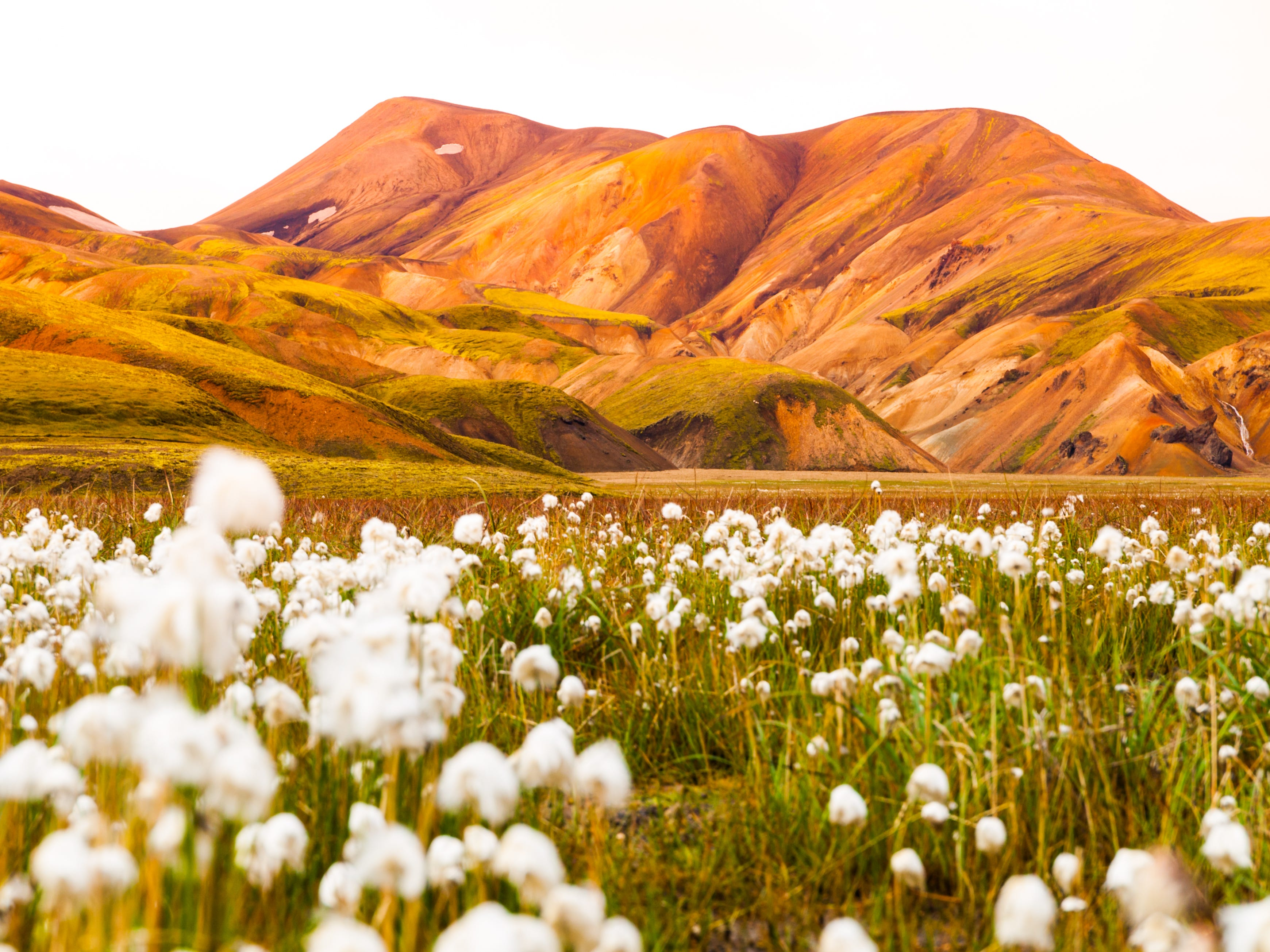 Landmannalaugar in Iceland.