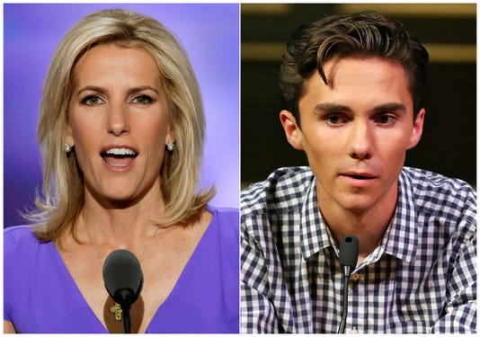 Ap School Shooting Laura Ingraham A Ent Usa