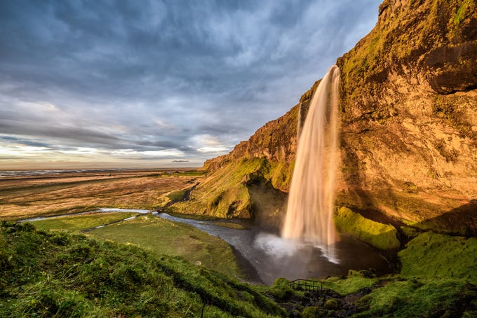 Seljalandsfoss in Iceland.