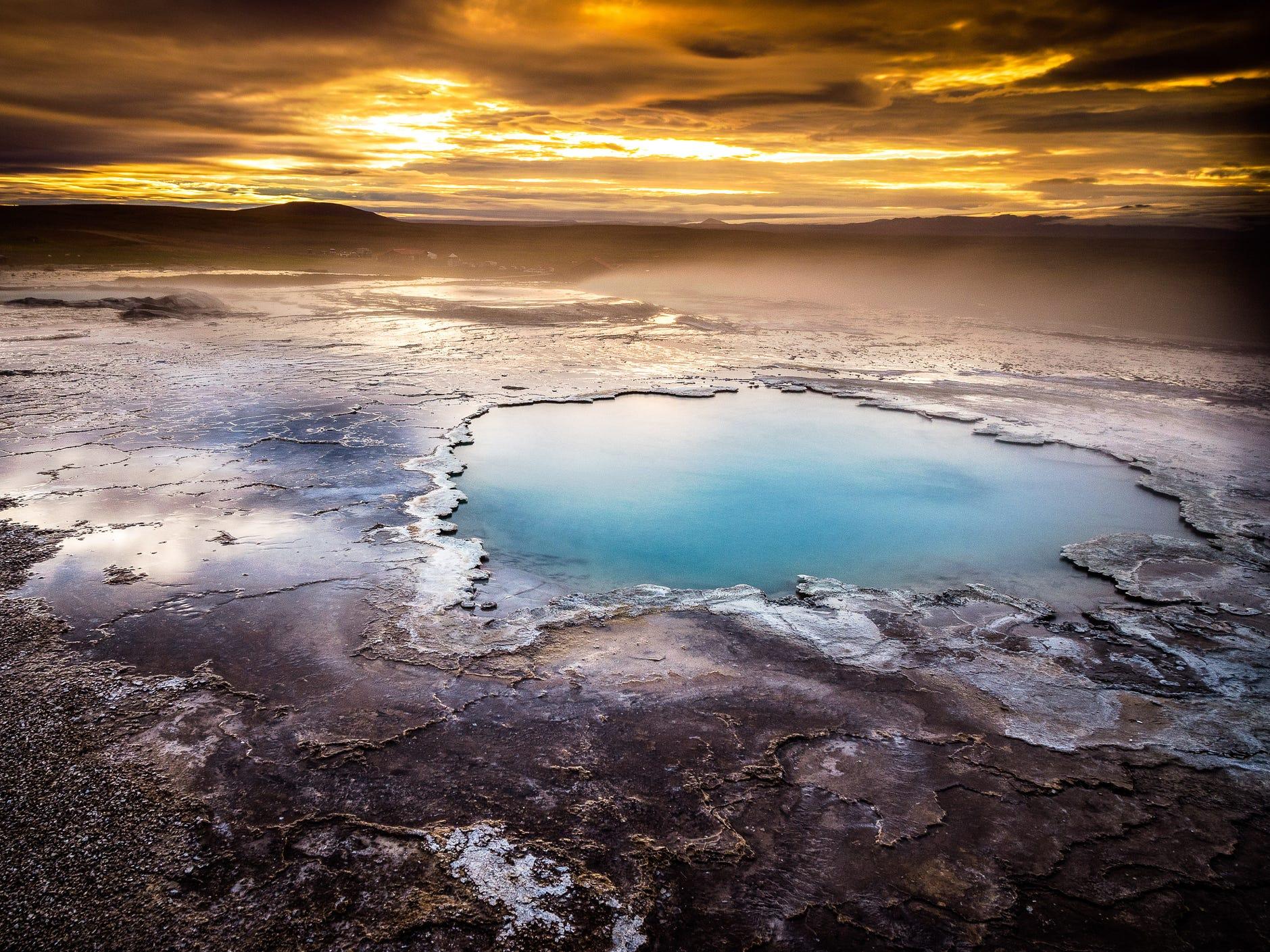 Hveravellir Nature Reserve in Iceland.