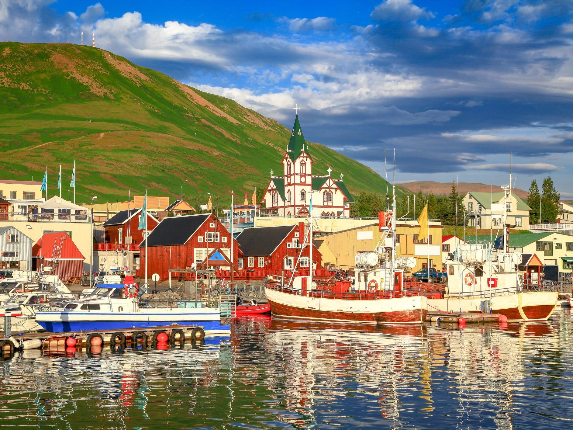Húsavík, Iceland.