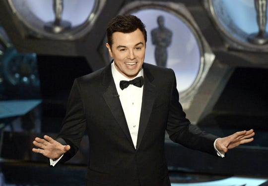 Seth MacFarlane, seen here hosting the Academy Awards in 2013, says it will be tough for the Oscars to find a replacement host after the withdrawal of Kevin Hart.