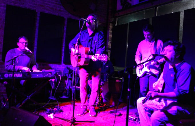 Simple Syrup performed their Holiday Jam at Smiley's Acoustic Cafe on December 22, 2018.