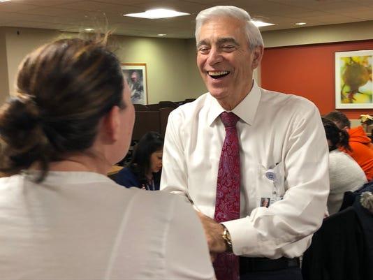 John Lloyd retires from Hackensack Meridian Health
