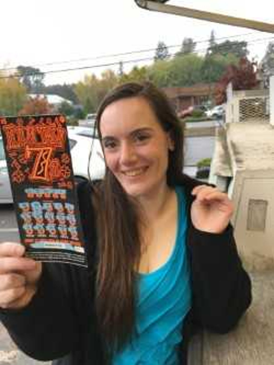 You are supposed to buy a lottery ticket the day of your release from prison, Trista said.