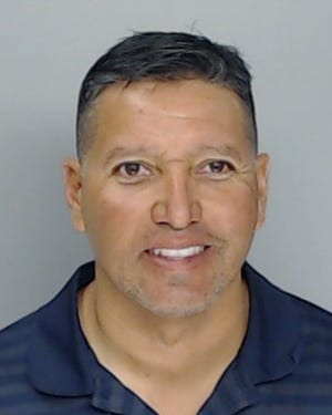 Senior officer Tommy Eli Cabello of the Corpus Christi Police Department turned himself into Nueces County Jail late Friday night on warrant charges.
