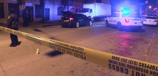 Two people were shot in the 1800 block of Over-the-Rhine on Saturday night.