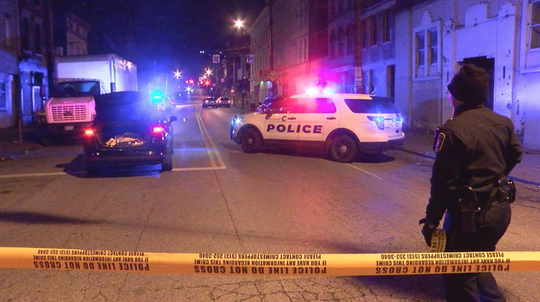 Two people were shot in Over-the-Rhine on Saturday night in 1800 block of Vine Street.