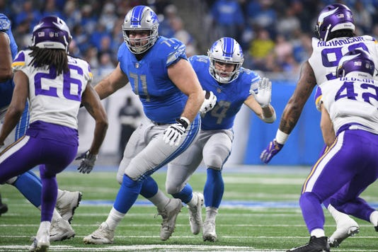 Nfl Minnesota Vikings At Detroit Lions