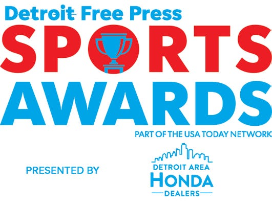 Detroit Free Press Logo Cmyk Blue Color