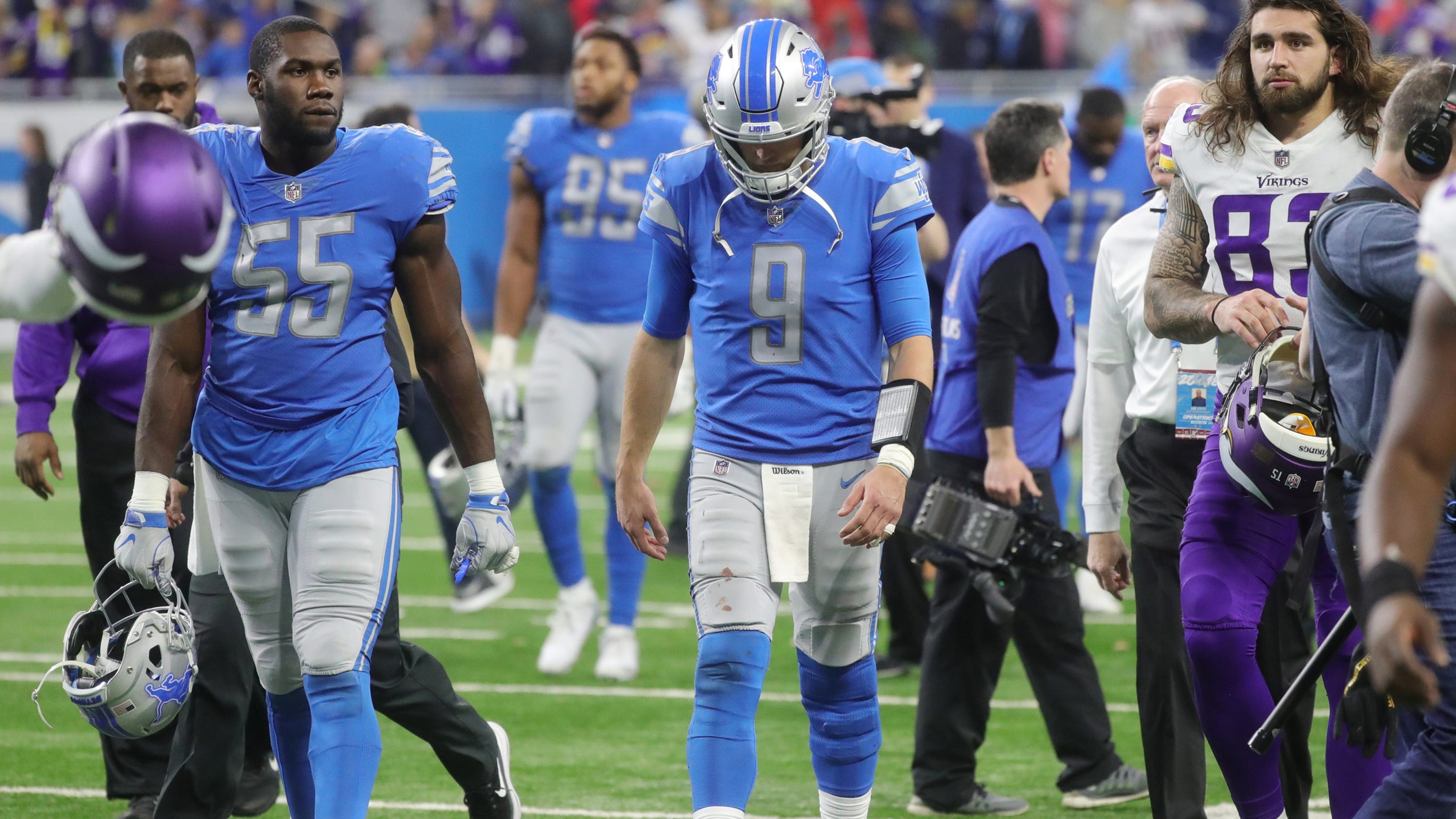 best cheap 211f1 8956a Detroit Lions mailbag: Could Lions take QB high in NFL draft?