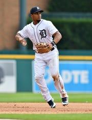 Jeimer Candelario (Robin Buckson / Detroit News)