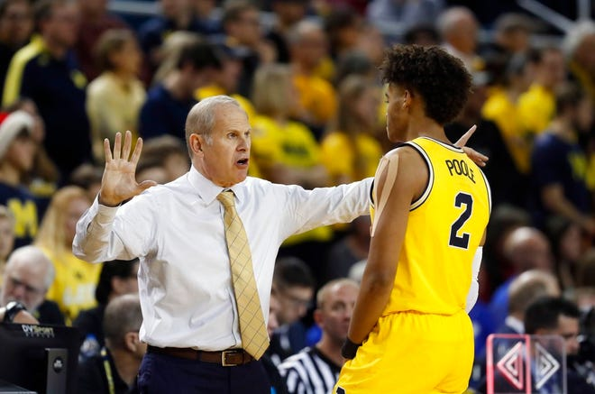 """Coach B yelled at us,"" said Charles Matthews about coach John Beilein's halftime talk Saturday after Michigan committed eight first-half turnovers."