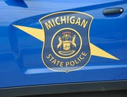 Michigan State Police vehicle.