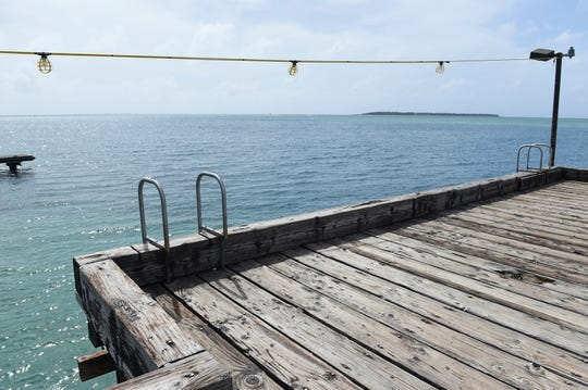 The Cocos Island is seen from Merizo pier in this Dec. 23, 2018 file photo.