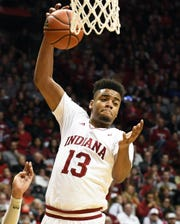 Against Jacksonville, Juwan Morgan posted the rare triple-double for IU.