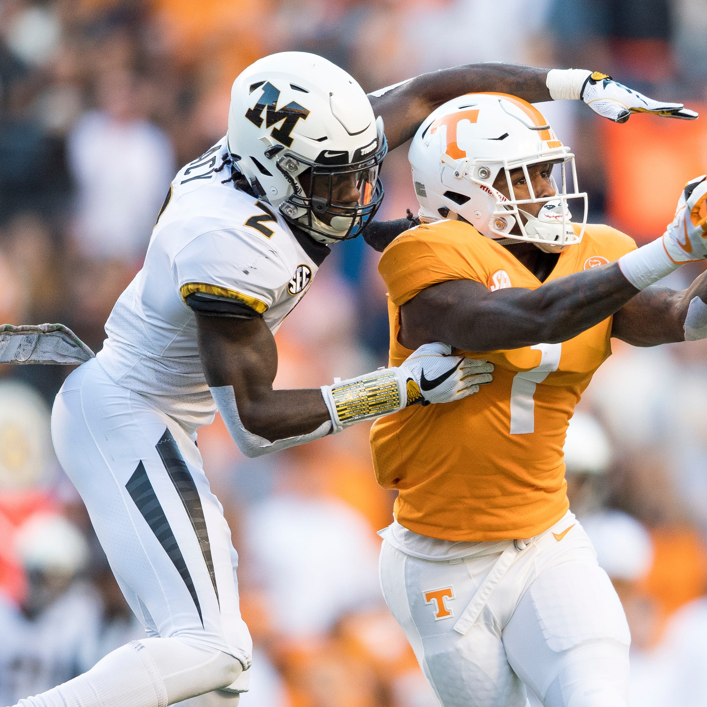 Does Tennessee football have a dominant receiver ready to emerge?