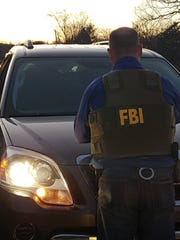 FBI agents arrested Timothy Sample Saturday evening along John Sevier Highway in South Knox County in connection with an armed robbery at the UT Federal Credit Union at 9700 Kingston Pike that occurred on Friday. Sample has not been charged in connection with the Friday robbery, but was wanted for questioning.