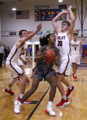 Mansfield Senior's Roger Merrell III joined Madison's Brooklynn Arnold as the Mansfield News Journal's Athletes of the Week.
