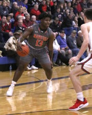 Mansfield Senior guard Quan Hilory came up big in the fourth quarter for the Tygers, scoring 11 of his game-high 19 points and converting all 8 of his free throws, in the 50-44 win over Shelby in the 419 Challenge at Ontario High School.