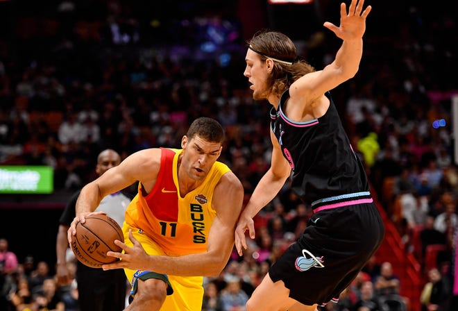 Bucks center Brook Lopez, a significant three-point threat, also has become more adept at attacking off the dribble.