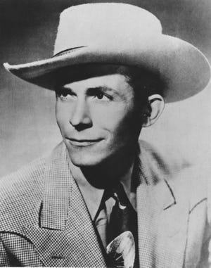 Country-western singer and guitarist Hank Williams Sr.