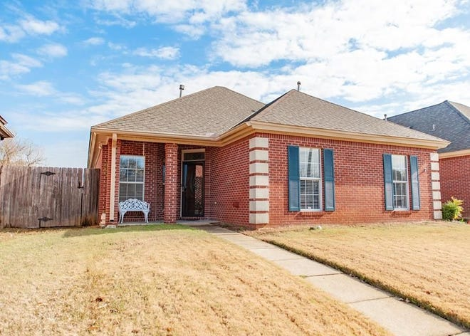 One Norris Farms home is for sale for $136,900 and provides three bedrooms and two bathrooms within 1,591 square feet of living space.