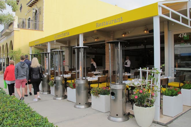 La Pescheria, an Italian seafood restaurant, recently opened on Fifth Avenue South in downtown Naples.