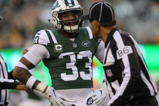 Jamal Adams and the Jets were not happy with some of the referees fourth quarter calls. Sunday, December 23, 2018
