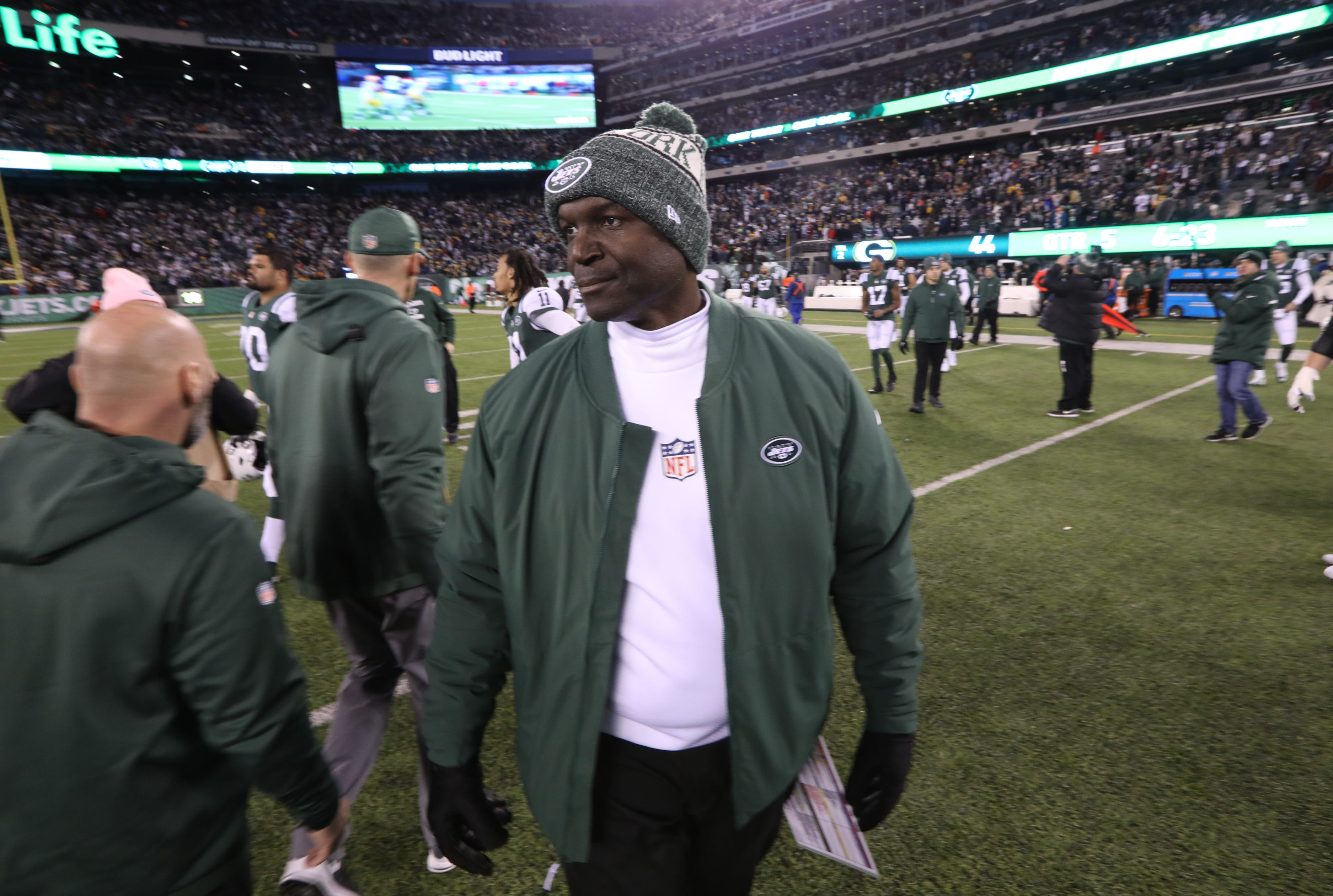 Jets' Todd Bowles rips refs after OT loss to Packers: 'Thought we were playing two teams'