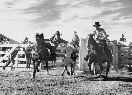 Christmas Eve Rodeo 1938.