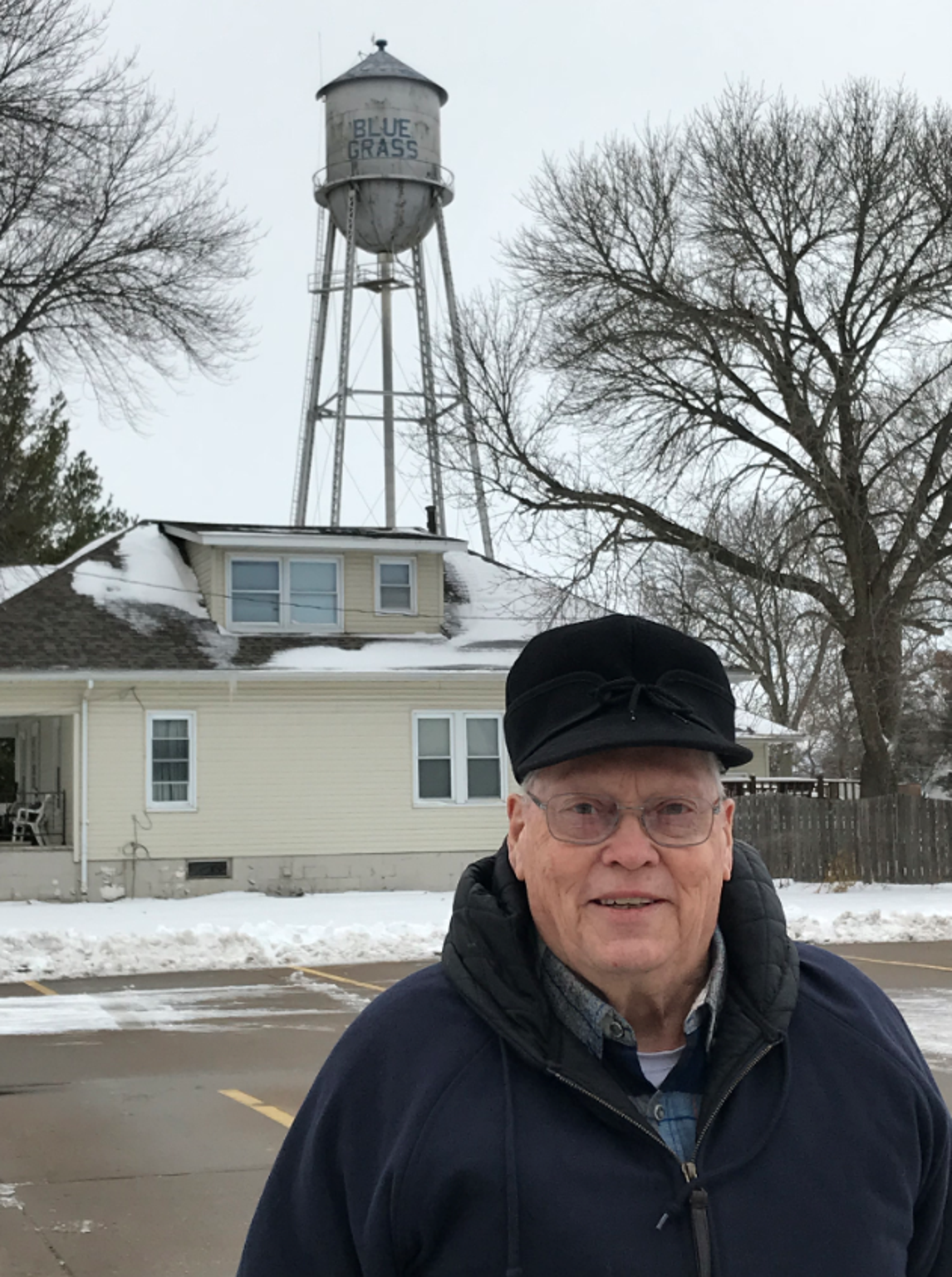 Paul Barnes, the longtime mayor of Blue Grass, Iowa.