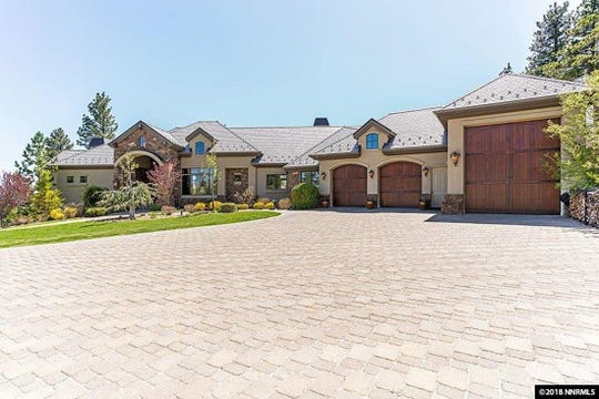 12 TIE. 520 MOUNT MAHOGANY COURT. $2.6 million. 6,740 square feet, 4 bedrooms, 4 bathrooms, 1 half bathroom.
