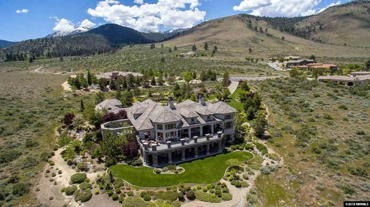 7 TIE. 12360 HIGH VISTA DRIVE. $2.9 million. 6,733 square feet, 4 bedrooms, 4 bathrooms, 3 half bathrooms.