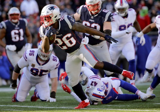 Sony Michel Kyle Williams Levi Wallace