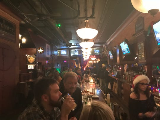 Scotland Yard Pub on its last night on Dec. 22, 2018.