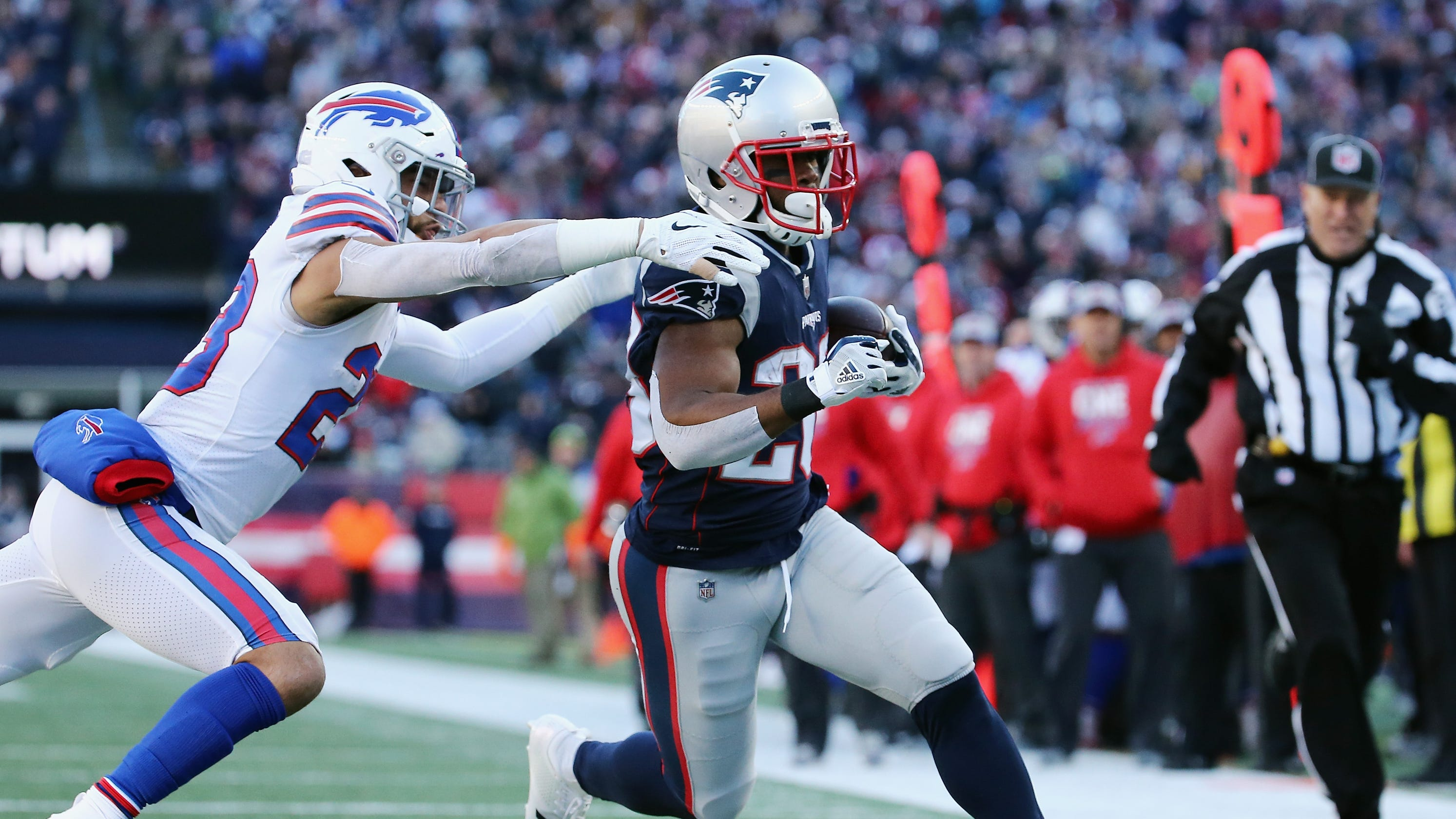 858936e2f86 New England Patriots claim AFC East title with win over Buffalo Bills